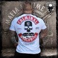 Mafia & Crime – 182c-g Worldwide T-Shirt grau – CrimeCulture Bochum – CrimeCulture Onlineshop