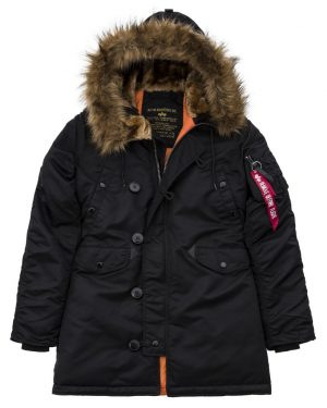 Alpha Industries Frauen Jacke, Parka, Mantel N3B VF 59 Wmn