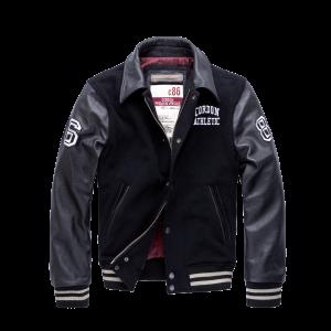 Cordon Sport College Jacke Bronx schwarz/schwarz