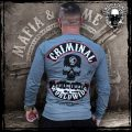 Mafia and Crime Patch Longsleeve, versch. Farben