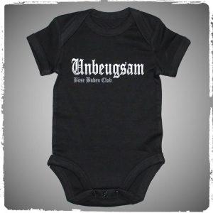 Strampler / Böse Buben Club Baby Body – Unbeugsam / CrimeCulture Online Shop