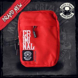 Mafia and Crime Umhängetasche verschiedene Farben lieferbar *rot*camo*grau