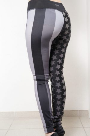 Leggings SUPERFIT – Normale Leibhöhe – Allover-Stars & Stripes – SUPER SALE!!!