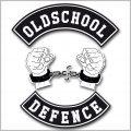 Oldschool Defence Logo Shirt Frauen
