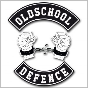 Oldschool Defence Logo Shirt Frauen