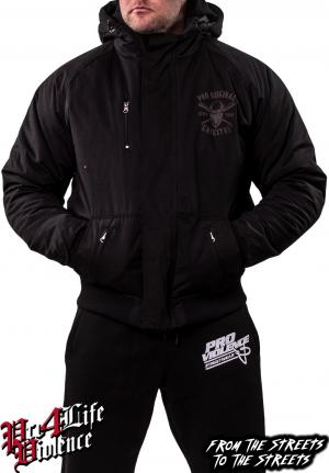 Pro Violence Winterjacke Original Gangster schwarz